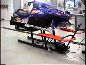 build your own sled lift ez pro sled hoist youtube