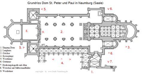 Minecraft Floor Plan dom naumburg grundri 223 des dom st peter und paul
