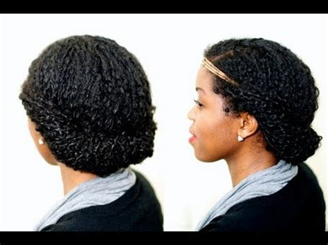 quick easy protective style natural hair misst