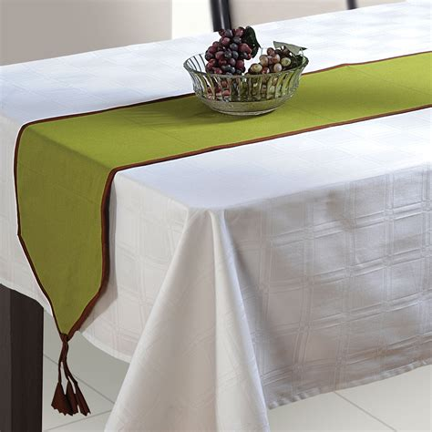 new table runner cloth linen home decor for wedding