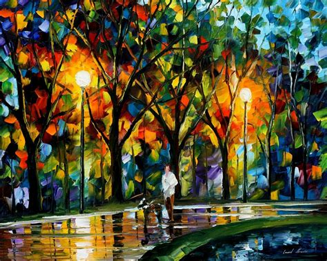 popular artwork leonid afremov oil on canvas palette knife buy original