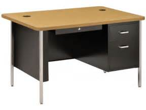 single pedestal metal teachers desk 48 quot x30 quot desks