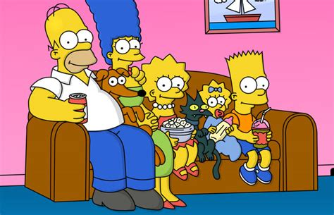 simpsons sitting on couch the simpsons voice actors agree to pay cut
