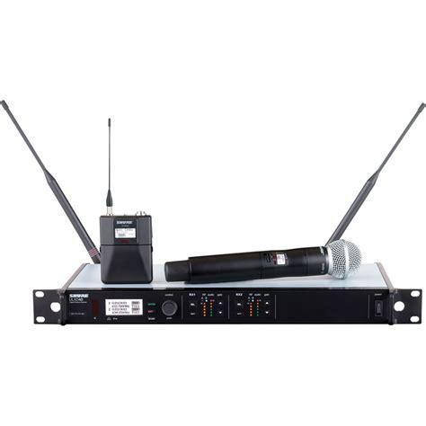 Shure Mic Wireless Ulx 7 5 shure ulx d dual channel digital wireless ulxd124d sm58