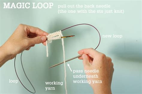 how to knit with circular needles for beginners 36 best images about knitting tutorials on