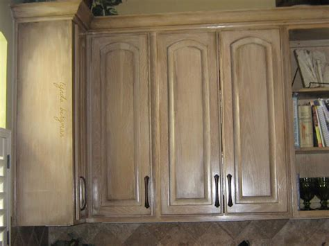 white washed kitchen cabinets lynda bergman decorative artisan distressing aging