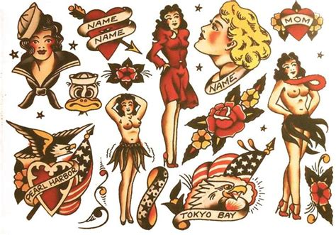 tattoo old school pdf 269 best images about sailor jerry vintage tattoo