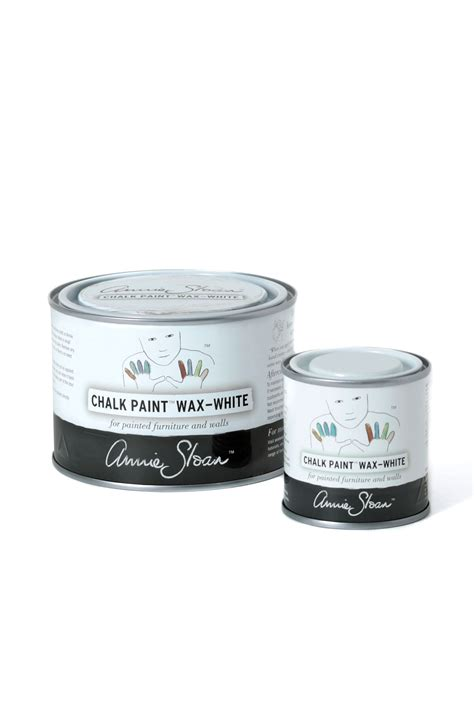 White Chalk Paint 174 Wax Sloan