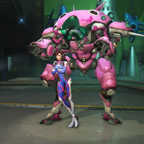Overwatch Classic D Va Big Standee not all s wear capes gaming