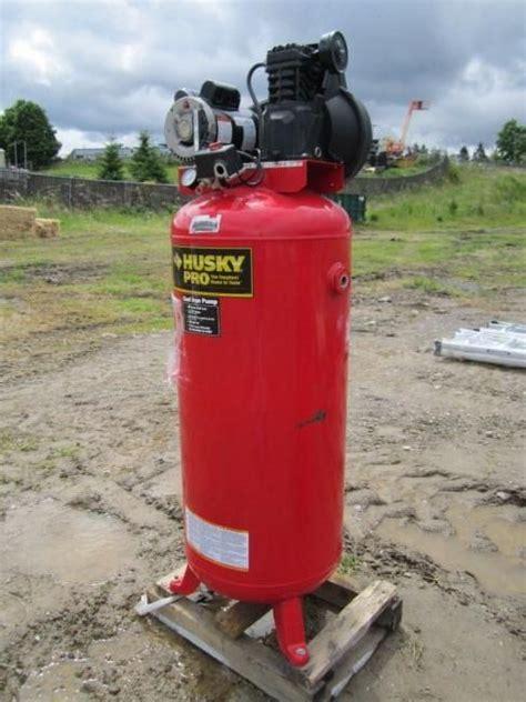 husky pro 60 gallon 3 2hp air compressor