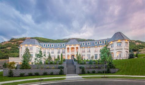 10 000 Square Foot House Plans by 20 000 Square Foot Newly Built Mega Mansion In Draper Ut