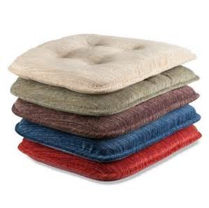 Dining Chair Cushions Non Slip Set Of 2 Indoor Dining Kitchen Tufted Non Slip Chair Cushion Pad 5 Color Choices Ebay