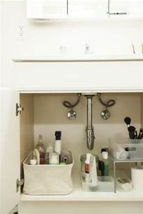bathroom sink organization ideas 5 tips for the sink organization remodelista
