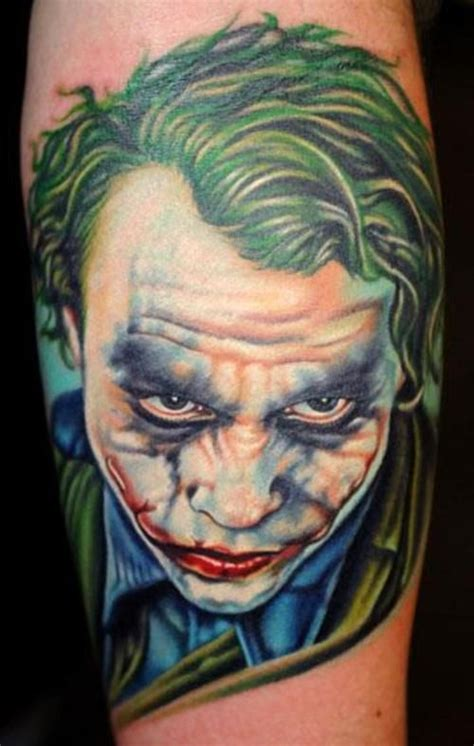 joker tattoo portrait 41 best tattoo s images on pinterest jokers the joker