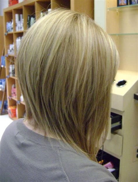pics of inverted bob med long bob haircuts back view long inverted bob inverted