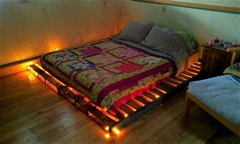 Catchy And Distinct Style Pallet Bed Diy Wooden Pallet Furniture Diy Ideas For Wood Pallet Beds Diy Motive