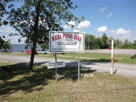 boat launch ontario red pine bay boat launch braeside ontario boat rs