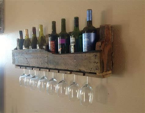 Recycled Wood Wine Rack by Reclaimed Wood Functional Ideas 171 Home Highlight