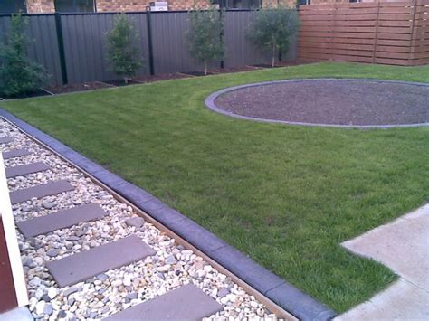 backyard edging garden edging we will provide garden edging around a yard or patio area for plants