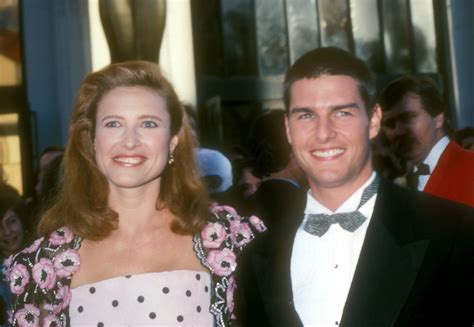 tom cruise gets married mimi rogers the women who married tom cruise popsugar