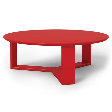 Markel Modern Red Coffee Table Eurway Furniture