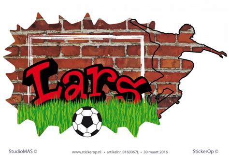 muurstickers graffiti type  lars