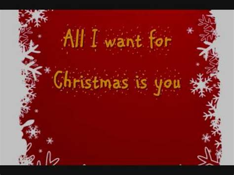 download mp3 free all i want for christmas is you mariah carey all i want for christmas is you lyrics on