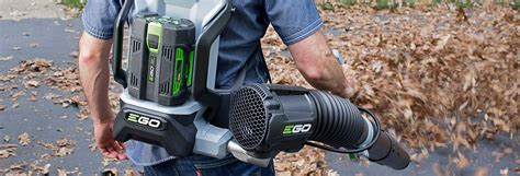 ego leaf blower blew   electric competition consumer reports