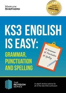 ks3 english complete coursebook 1844197611 ks3 english is easy grammar punctuation and spelling