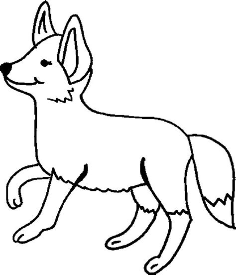foxy the fox coloring pages