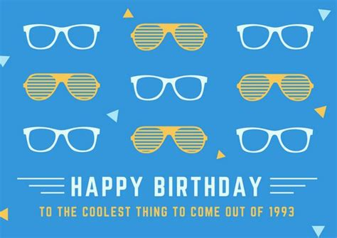 cool birthday card templates birthday card templates canva