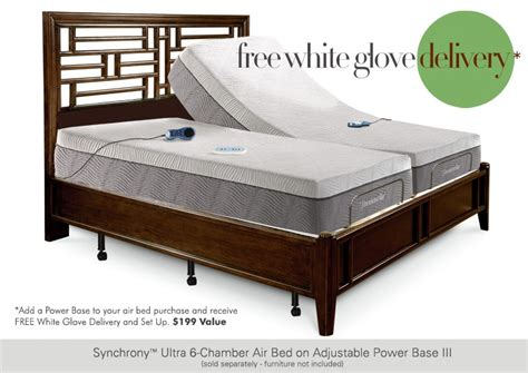 thomasville 174 aries 6 chamber adjustable mattress