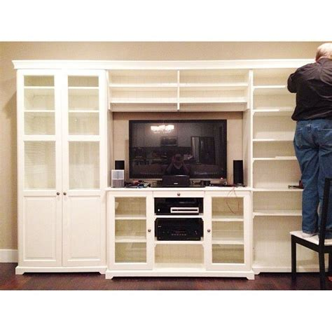 ikea wall unit hack 24 best living room images on pinterest