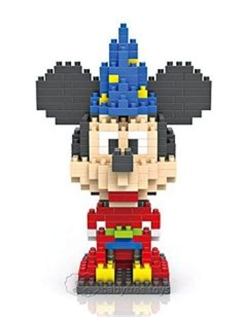 Loz Nano Block Disney Mickey Mouse 1000 images about nano block sets on building
