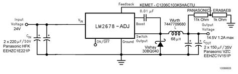 bootstrap circuit working lm2678 stops working in cold simple switcher 174 forum simple switcher 174 ti e2e community
