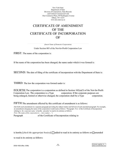 sle of articles of incorporation certificate of incorporation template 28 images certificate of incorporation certificate of