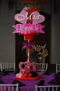 centerpiece ideas for sweet 16 sweet 16 centerpiece centerpices