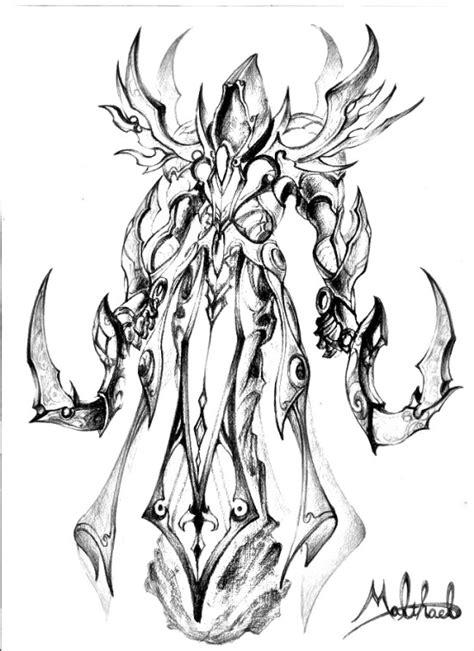 Diablo 3 Sketches by Diablo 3 Malthael Illust Sketch Ver By Dhkem322 On Deviantart
