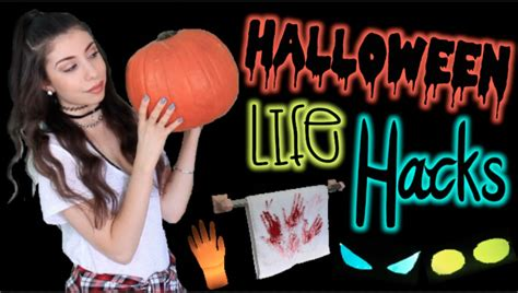 diy hacks youtube 8 life hacks for halloween cheap easy diy decorations