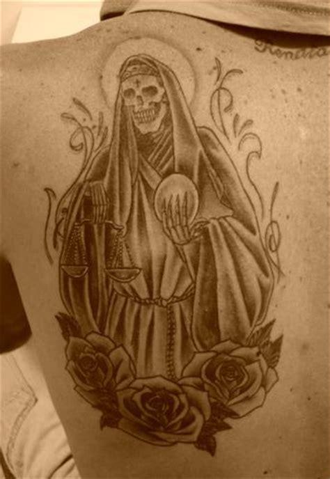 muerte tattoo design santa muerte tattoos