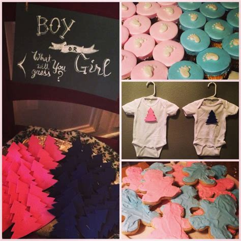 christmasgender reveal 72 best images about gender reveal on cake batter pink blue and make your own card