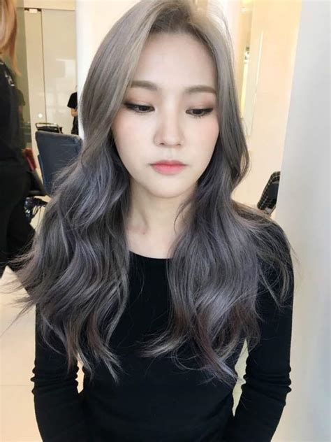 whats trending for hair the new fall winter 2017 hair color trend kpop korean