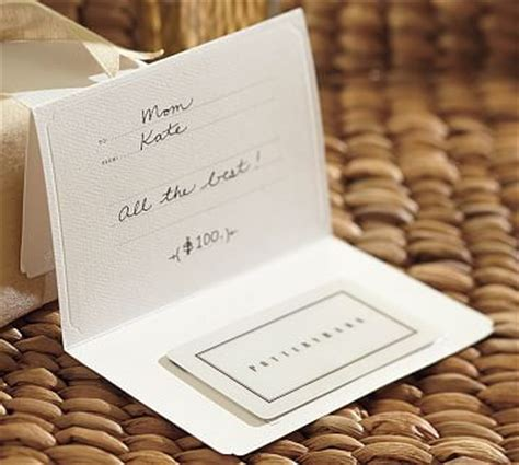 pottery barn gift cards pottery barn