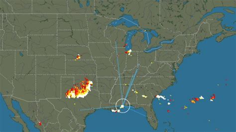 lightning strikes map lightning strike around the world in real time aivanet