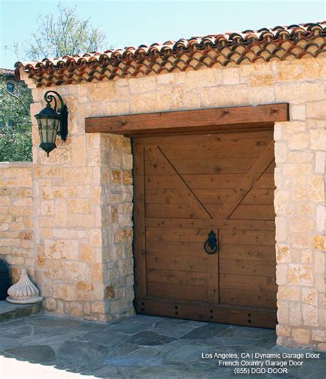 French Country Style Garage Doors Architectural Designs Country Garage Doors