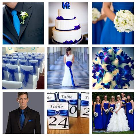 Dark/royal/electric blue wedding theme   Wedding in 2019