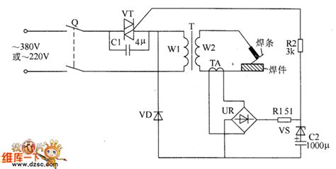 how to use capacitors to save electricity gt circuits gt welder no load power saver circuit diagarm 5 l51240 next gr