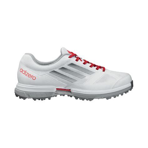 adizero sport golf shoes adidas adizero sport golf shoes womens white silver