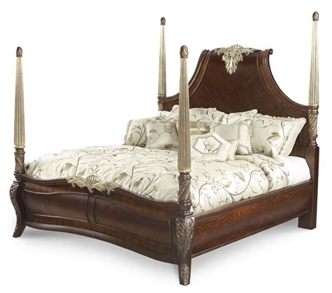 Imperial Court Panel Bedroom Set From Aico 790 Coleman Imperial Bedroom Furniture