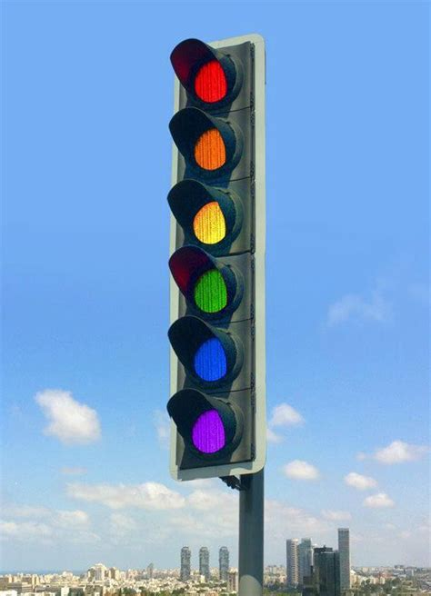 blue lights on traffic lights from post quot hahaha wonder what the other colors mean